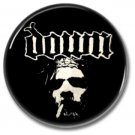 DOWN band button (badges, pins, stoner rock, sludge)