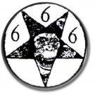 Iron Monkey band button (badges, pins, stoner rock, sludge)