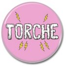 TORCHE band button (badges, pins, stoner rock, sludge)