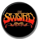 The SWORD band button (badges, pins, stoner rock, sludge)