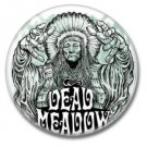 Dead Meadow band button (badges, pins, stoner rock, sludge)