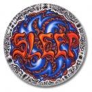 SLEEP band button (badges, pins, stoner rock, sludge)