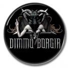 Dimmu Borgir band button (25mm, badges, pins, heavy metal, black metal)