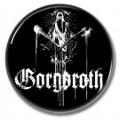 Gorgoroth band button (25mm, badges, pins, heavy metal, black metal)