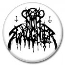 Nunslaughter band button (25mm, badges, pins, heavy metal, black metal)