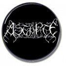 ASTARTE band button (25mm, badges, pins, heavy metal, black metal)