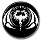 Cryptopsy band button! (25mm, badges, pins, heavy metal, death metal)