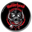 Motorhead band button (lemmy kilmister, badges, pins, 25mm)