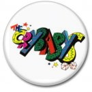 CRYBABYS button! (25mm, badges, pins, glam rock)