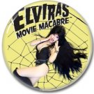 Elvira Mistress of the dark button (badges, pins, 25mm, Cassandra Peterson, horror, cult)
