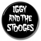 Iggy And The Stooges band button (iggy pop, badges, pins, 25mm)