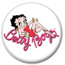 Betty Boop button (badges, pins 25mm)