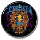 Jethro Tull band button (prog rock, badges, pins, 31mm)