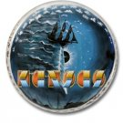 KANSAS band button (prog rock, badges, pins, 31mm)