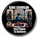 KING CRIMSON band button (prog rock, badges, pins, 31mm)
