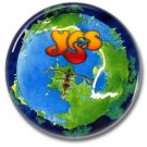 YES band button (prog rock, badges, pins, 31mm)