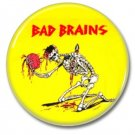 Bad Brains button (punk, badges, pins, 25mm)