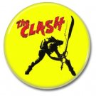 the Clash button (punk, badges, pins, 25mm)