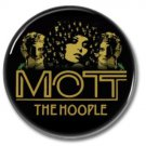 MOTT THE HOOPLE band button! (25mm, badges, pins, glam,70s)
