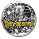 HEIR APPARENT band button (badges,pins, 25mm, heavy metal, power metal prog)