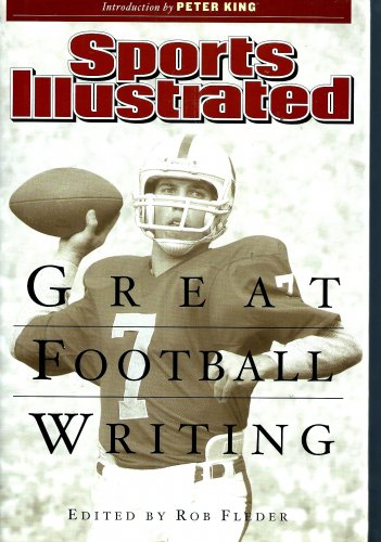 New Hardcover Sports Illustrated GREAT FOOTBALL WRITING 552 pages