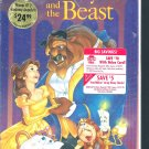 Sealed VHS Disney BEAUTY AND THE BEAST Classic Black Diamond UPC 717951325037