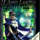 PC GAME ELVEN LEGACY Collection 4 Games Orig + 3 Expan Win XP Thru Win 10 Sealed