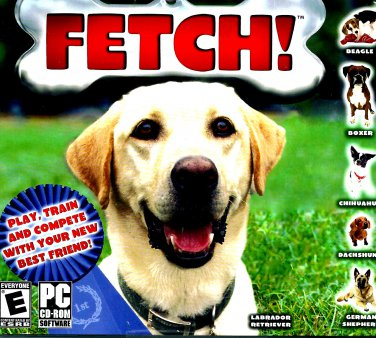 PC GAME FETCH Win 98 Thru Win 10 Sealed
