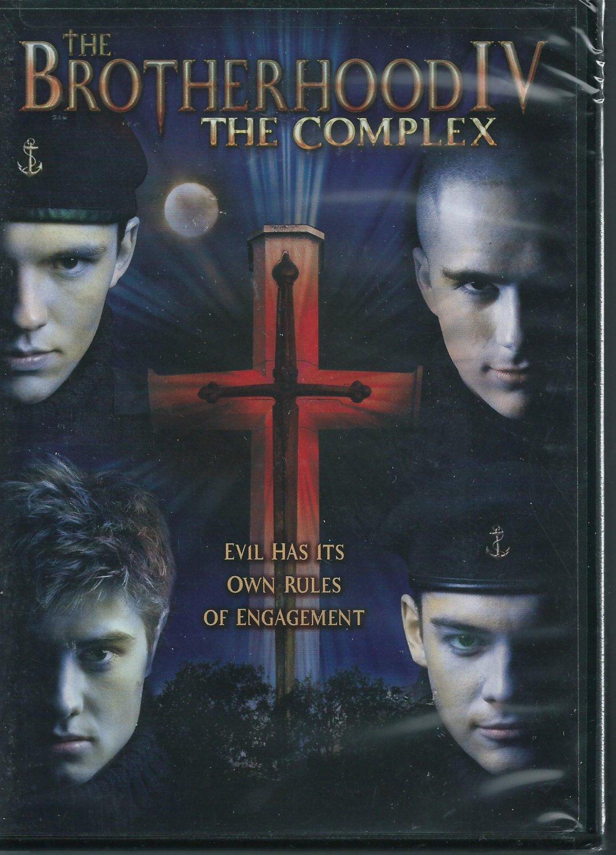 Sealed DVD THE BROTHERHOOD IV...The Complex Gacki Telek Harms Naude