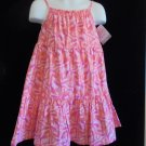 Carters Just One You - NWT Toddler Baby Girls Spring Pink/Orange Dress size 12M