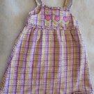 OkieDokie - Plaid Purple/Pk w/Tulip Sundress and Ruffles Girls Size 4T CLEARANCE
