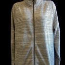 Banana Republic - Multi Color Gray's Sweater Jacket, LS, Pockets, Ladies Sz XL