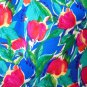 Russ Petites - Pretty Spring/Summer Floral Skirt w/Pockets, Ladies Size 4P Nice