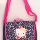 Sanrio - Girls Small Poly Shoulder Book Bag NWOT Gold HiLites CLEARANCE