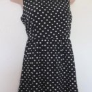 Holiday Editions - Black & Wte Polka Dot, Opening in Back, Poly, SS, Girls 14/16
