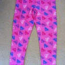 Disney Princess - Pink Pajama Bottoms Only w/Multi Colored Crowns Girls Sz 6 NWT