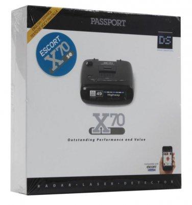 NEW $239 Escort - Passport X70 Police Cop Speed Radar Detector for Car Truck Van