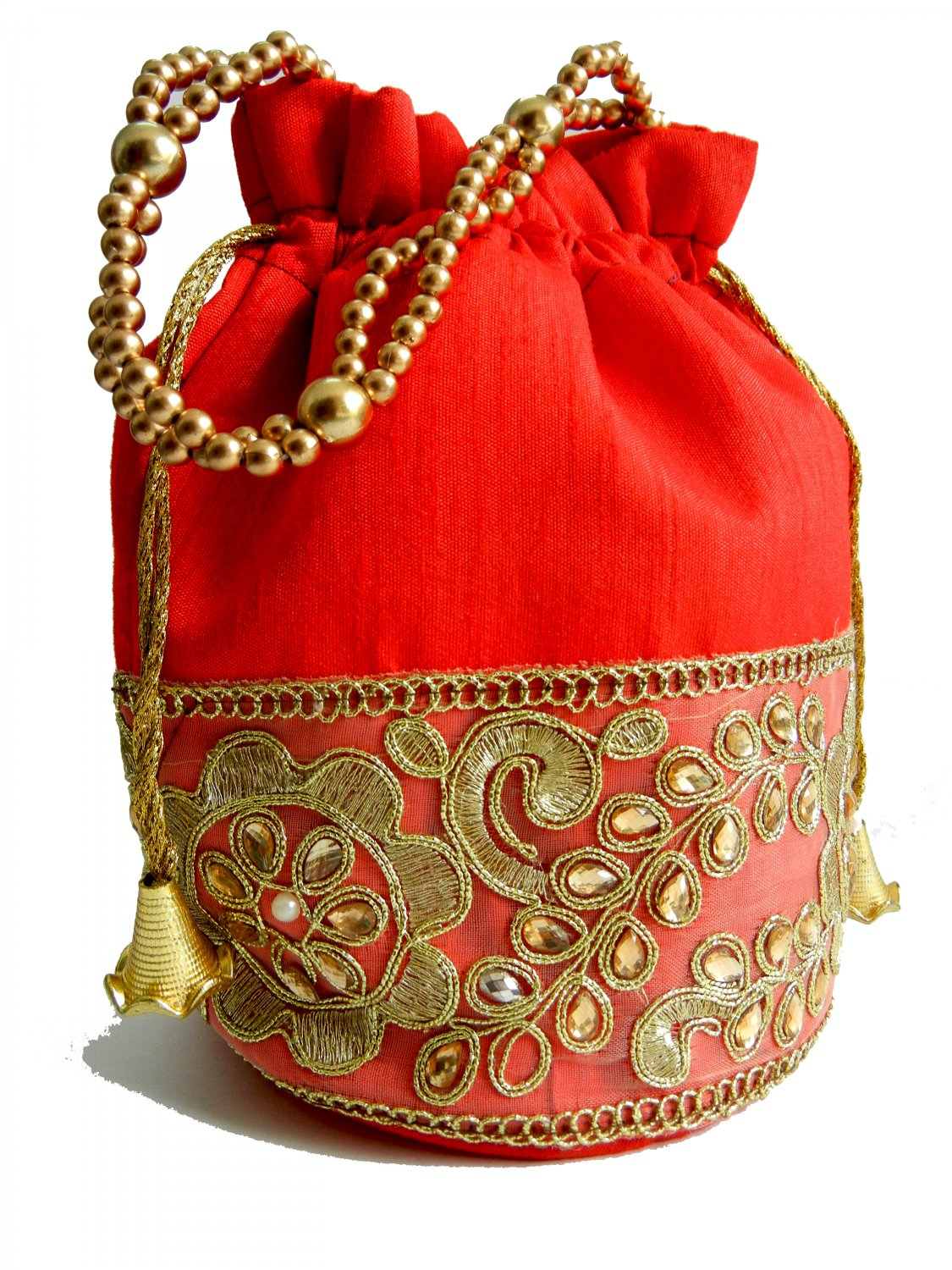 Indian Embroidered Handwoven Silk Lace Vintage Handbag for Women by Indiesoul