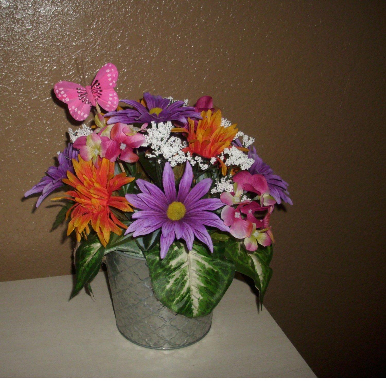 Colorful Mixed Spring Floral Arrangement