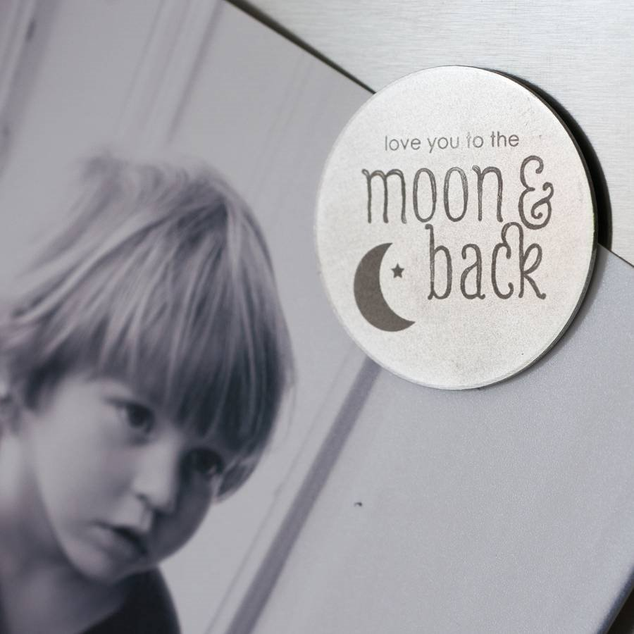 Moon & Back Magnet