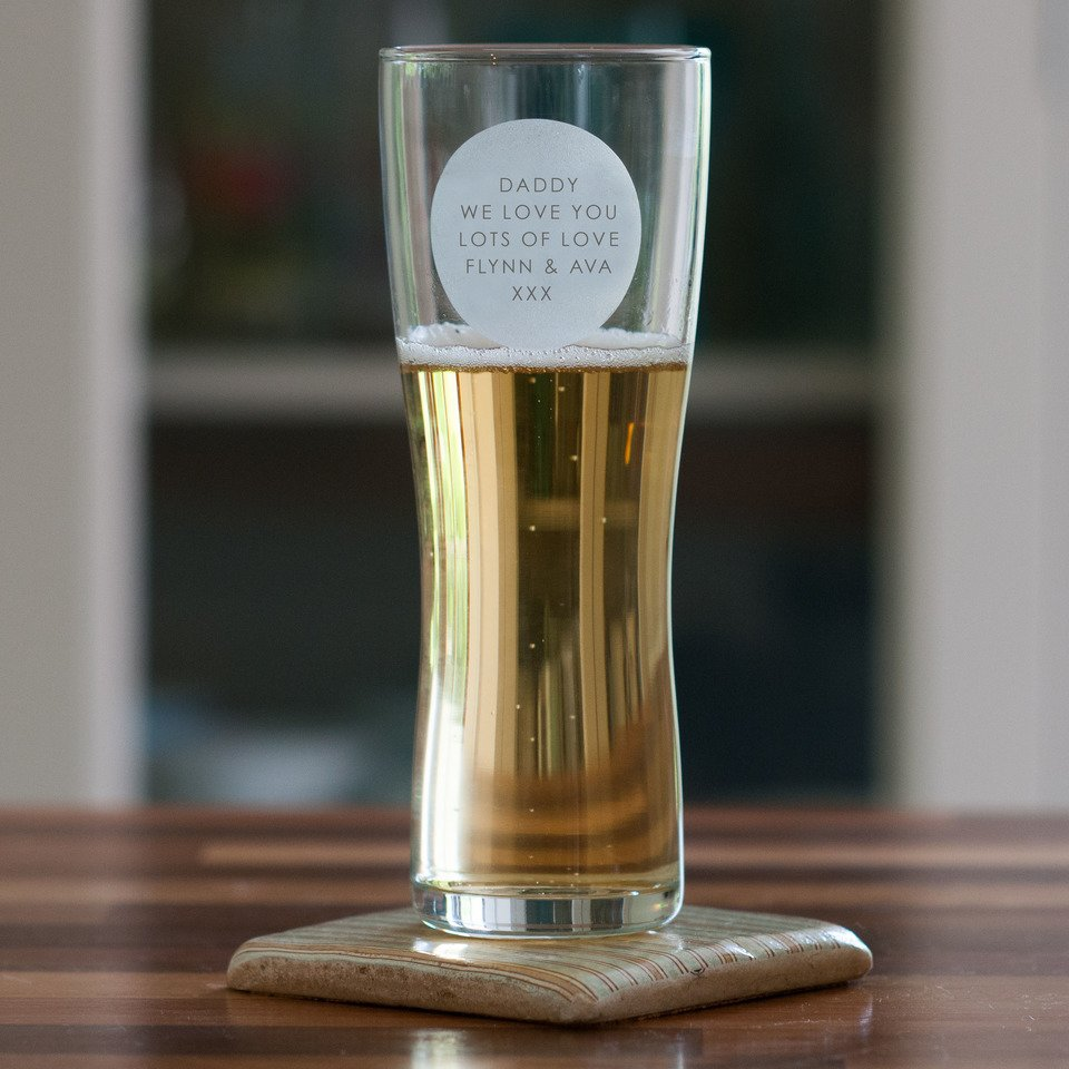 Personalised Pint Glass