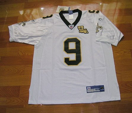 NFL DREW BREES #9 SAINTS JERSEY size 48/50/52/54