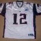 NFL #12 Reebok Tom Brady Patriots EQT Premier Storm Jersey size 48/50/52/54