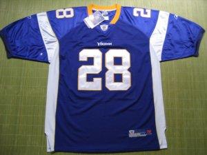NFL #28 Minnesota Vikings Peterson Jersey size 48/50/52/54