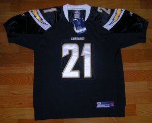 AUTHENTIC NFL TOMLINSON #21 NFL JERSEY NAVY BLUE #21 SIZES 48/50/52/54