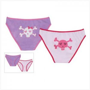 WOMEN`S PIRATE UNDERWEAR - Size L & LG