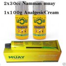 Namman Muay Analgesic Cream 2x30cc Boxing Liniment Oil Thai Massage