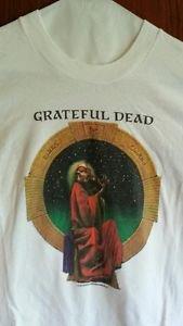 Grateful Dead Shirt T Shirt Vintage 1988 Blues For Allah Fiddler Garris GDP XL