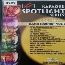 SC 8509 CLASSIC COUNTRY VOL.7 SPOTLIGHT SOUND CHOICE KARAOKE CD+G RARE