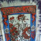 Grateful Dead T Shirt Vintage ORIG RARE 1966 AVALON Family Dog Skeleton Roses XL